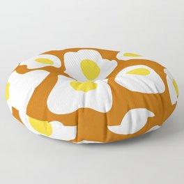 scrambled eggs Floor Pillow