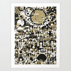 SUNNY LAVISTA Art Print