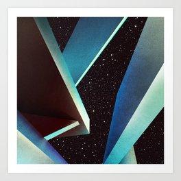 Cosmic Geometry Art Print