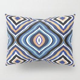 Blue Moroccan Pillow Sham