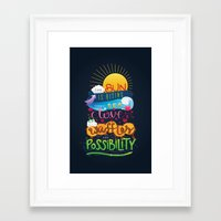 leslie knope Framed Art Prints featuring Leslie Knope Poster by Nana Adwoa Sey
