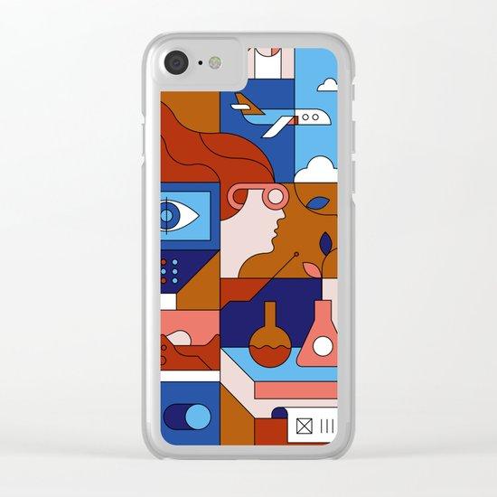 Creative Lab Clear iPhone Case