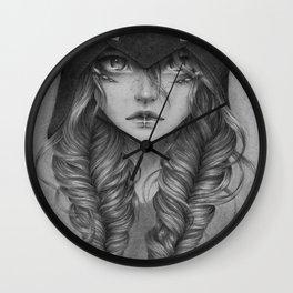 Emotionless Dragon Girl Wall Clock