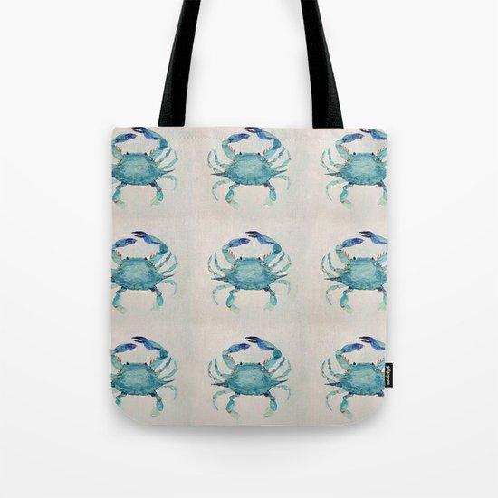 Atlantic Blue Crab Tote Bag