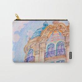 art nouveau Carry-All Pouch