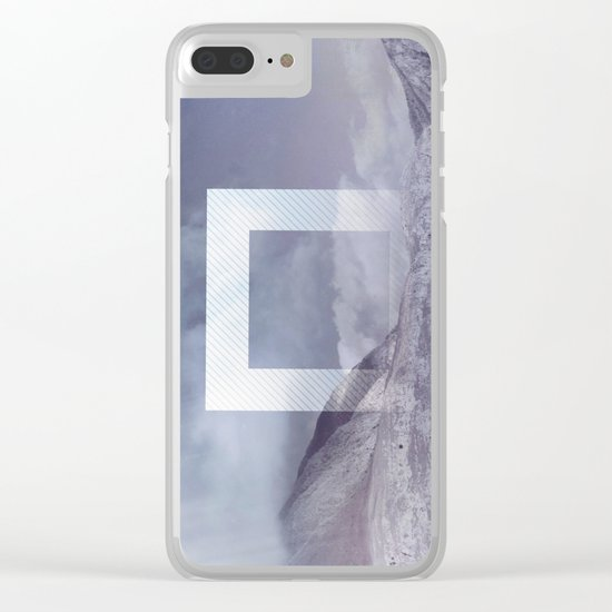 The Portal between the Mountains Clear iPhone Case