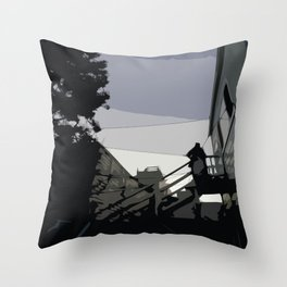 Quite Moment, San Francisco  Throw Pillow
