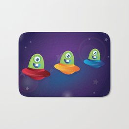 Baby Aliens Bath Mat