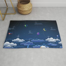 Super Adorable Mystic Little Fairies Responsible For Thunder Rug