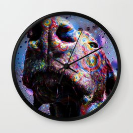Chocolate Lab Nose Wall Clock