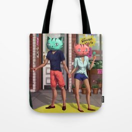 CatHeads Tote Bag