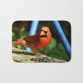 Cardinal morning! Bath Mat