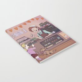 5 currant buns Notebook