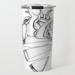 Heart of Chrome Travel Mug