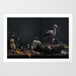 Barsel cover Art Print