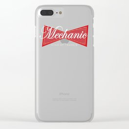 Mechanic King of Trades Gift Clear iPhone Case