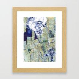 Oncle Quinté Framed Art Print