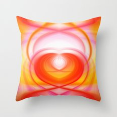 Twirl in Love Throw Pillow