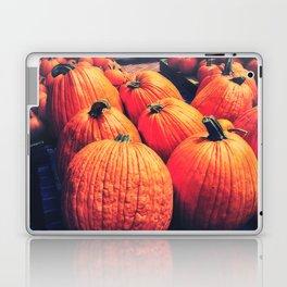 Pumpkins on a Pallet Laptop & iPad Skin