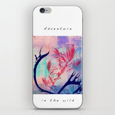 the wild II iPhone & iPod Skin