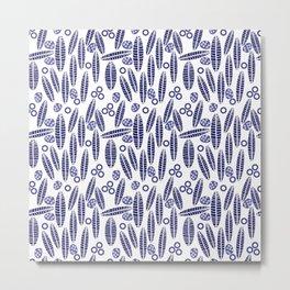 Leaves and Seeds 2 #society6 #buyart #decor Metal Print