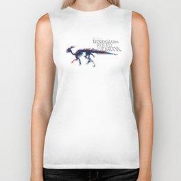 When Dinosaurs Ruled The Earth - Parasaurolophus Biker Tank