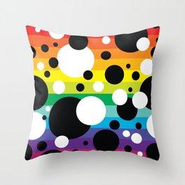 Party Confetti 6 Throw Pillow
