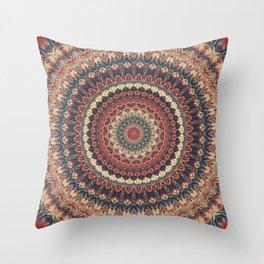 Mandala 595 Throw Pillow