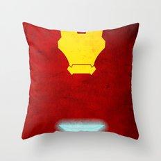 Iron Man: Avengers Movie Variant Throw Pillow
