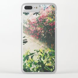 Botanical tropical Clear iPhone Case
