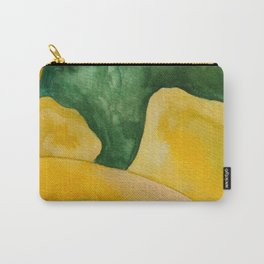 Yellow Landscape Carry-All Pouch