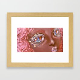 What's On Your Mind? Framed Art Print