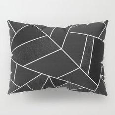 Black Stone Pillow Sham