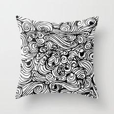 boredom Throw Pillow