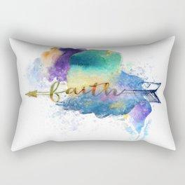 Faith Arrow Rectangular Pillow