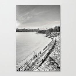 Along Ottawa river Canvas Print