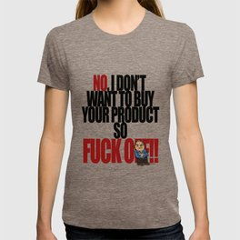 Get off my back - 5a T-shirt