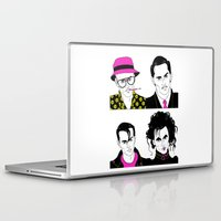 johnny depp Laptop & iPad Skins featuring Johnny Depp Chameleon by Lizz Buma