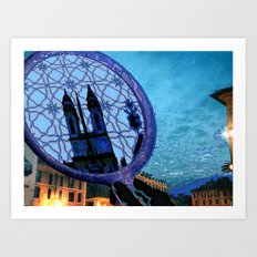 Piazza di Spagna, Roma Art Print