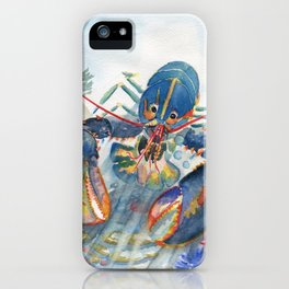 Under The Sea 2 - Lobster iPhone Case