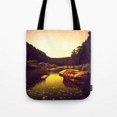 Let the Creek Take You Away Tote Bag
