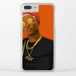 STARBOY (WIZKID) Clear iPhone Case