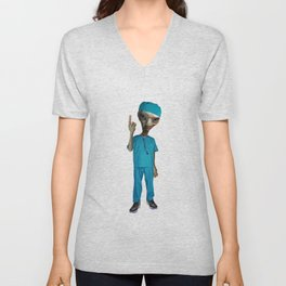 Dr. Alien Unisex V-Neck