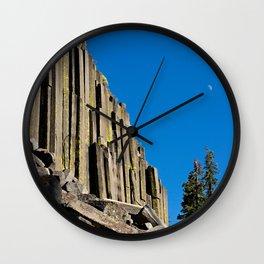 Devil's post pile, CA. Wall Clock