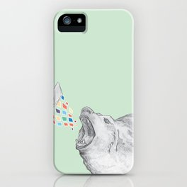 Bear Books iPhone Case