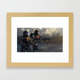 Helljumpers Framed Art Print
