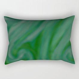 Green SWIRL Rectangular Pillow