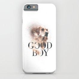Labrador Retriever Good Boy iPhone Case