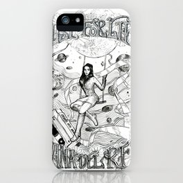 Lust for life album poster iPhone Case