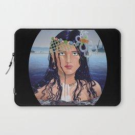 Plastic Southern California Mermaid Laptop Sleeve